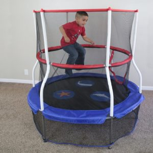 mini trampoline with enclosure best trampoline for our top 3 picks and reviews 7517
